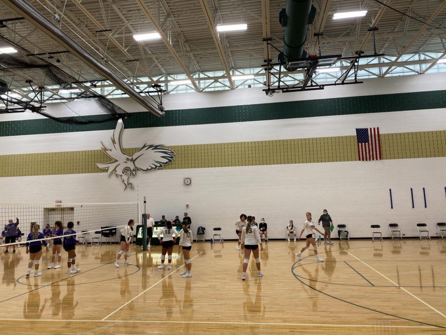 Volleyball team on the rebound
