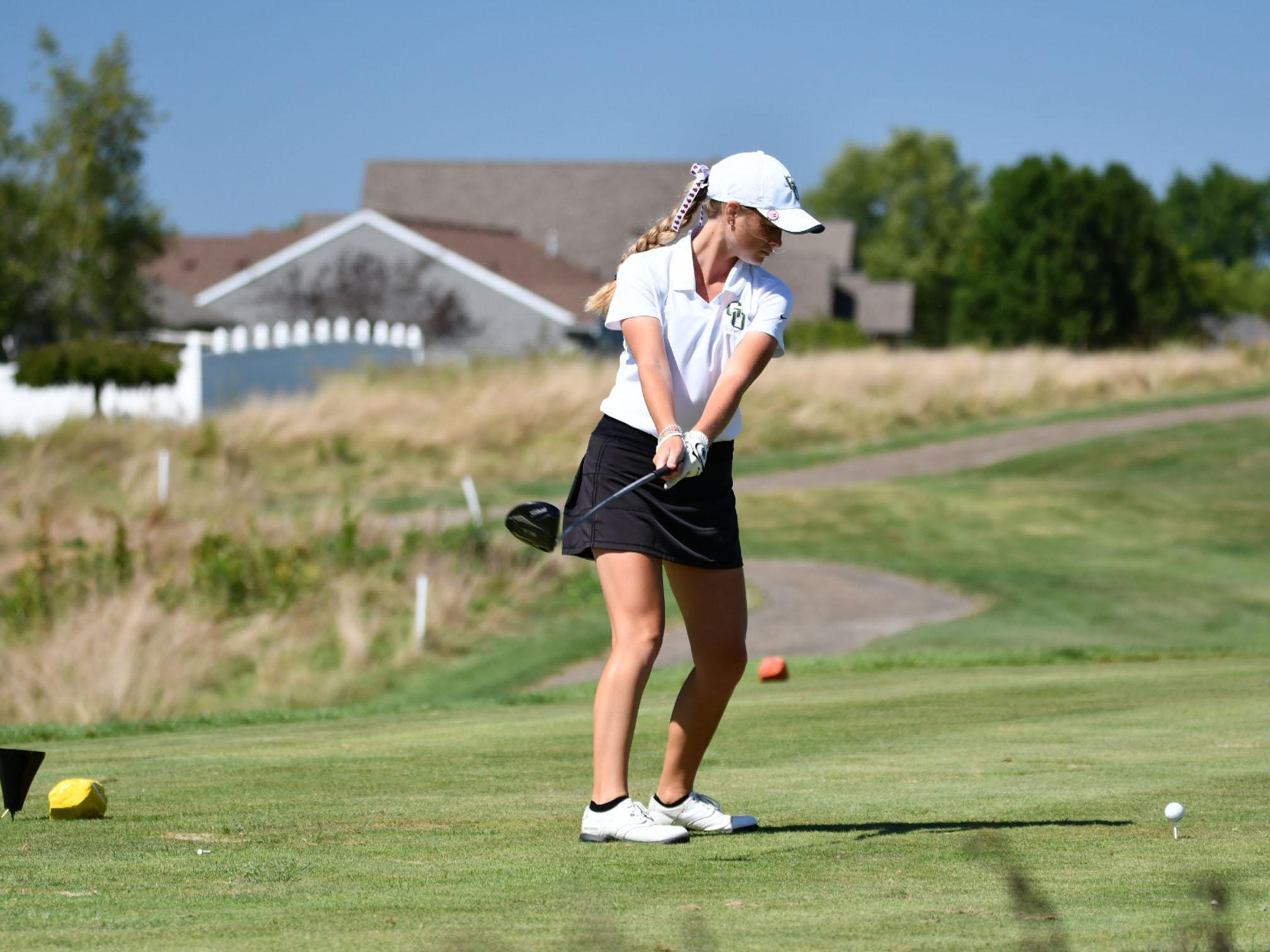 Golfer Maddie Reemsnyder achieves success