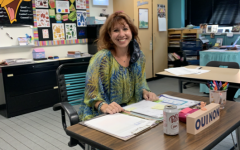 Teacher Julie Filliez has been teaching at Plain Local for over 30 years.  She told her mom she would not be a teacher but changed her mind.
